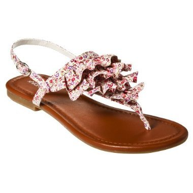 target xhiliration thierry ruffle sandals under 50 dollars Five summer sandals under $50
