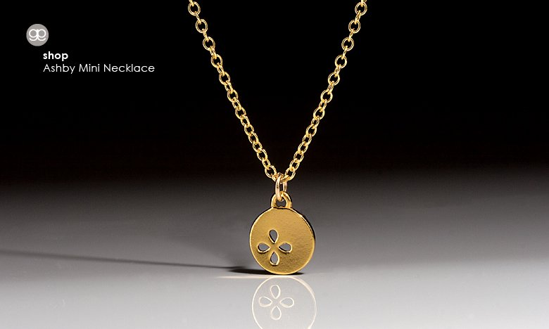 Gorjana Ashby mini necklace