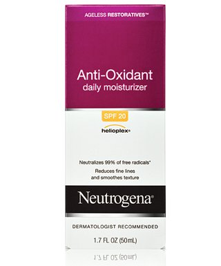 neutrogena antioxidant daily moisturizer spf Top 5 drugstore beauty buys