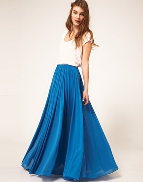 asos maxi skirt How to wear a maxi skirt