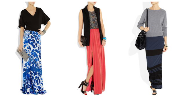 how to wear maxi skirt How to wear a maxi skirt