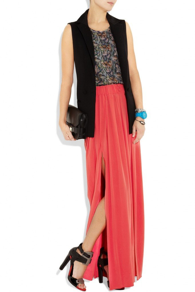 thakoon maxi skirt 682x1024 How to wear a maxi skirt