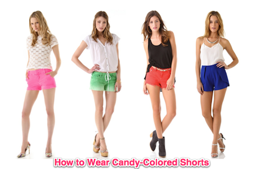 Sizzlin' Summer Trend: Candy-Colored Shorts