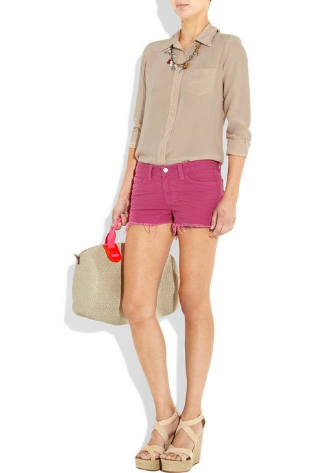 summer 2011 fashion trends bright pink shorts Sizzlin summer trend: Candy colored shorts