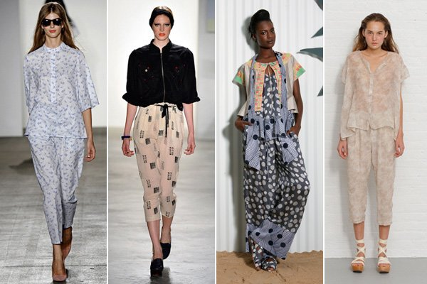 spring 2011 fashion trends pajama dressing