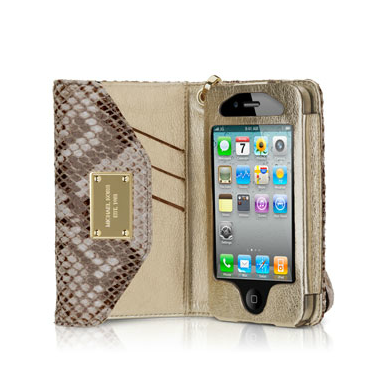 MICHAEL Michael Kors iPhone Wristlet Python Michael Kors Holiday gift ideas for fashionistas