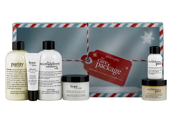 holiday gift ideas under 100 philosophy care package Holiday gift ideas for fashionistas