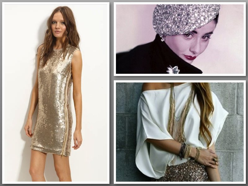 how to wear sequins glitter holiday outfits Holiday sparkle