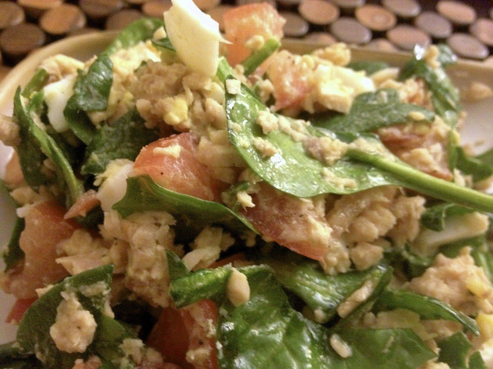 Foodie Fridays: Simple Salmon Salad