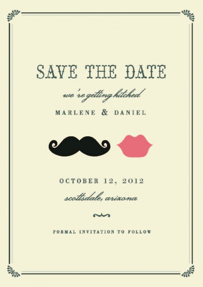 Cute Save the Dates: Minted.com