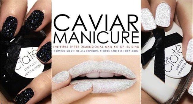 how to apply ciate caviar manicure