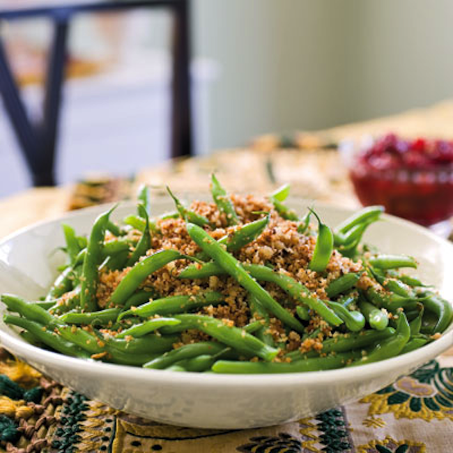 Healthy, Easy Green Bean Casserole Recipe