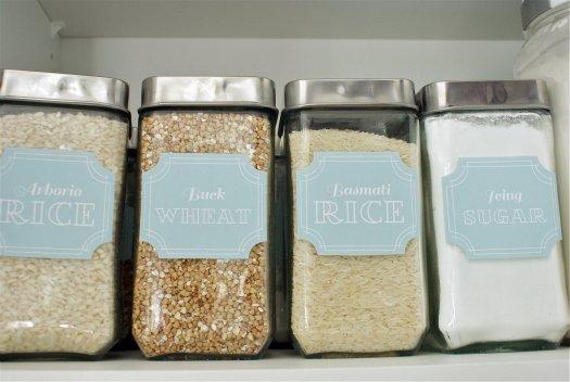 pantry labels