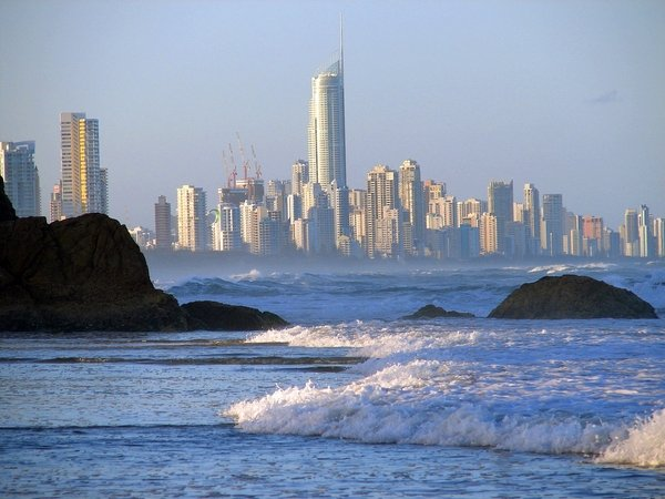 gold coast australia beach