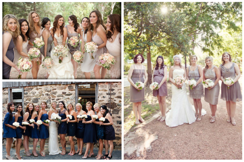 mismatched bridesmaid dress ideas