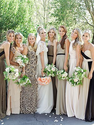 molly sims wedding bridesmaids