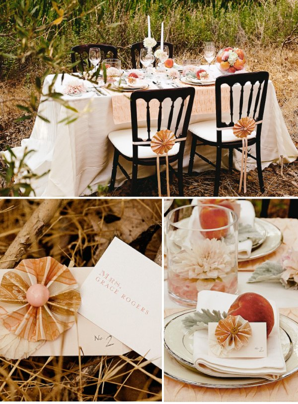 {Wedding Wednesday} Fall Table Settings