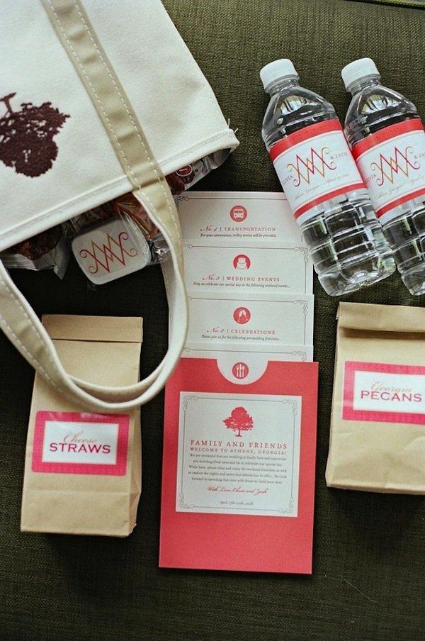 {Wedding Wednesday} Welcome Bag Ideas