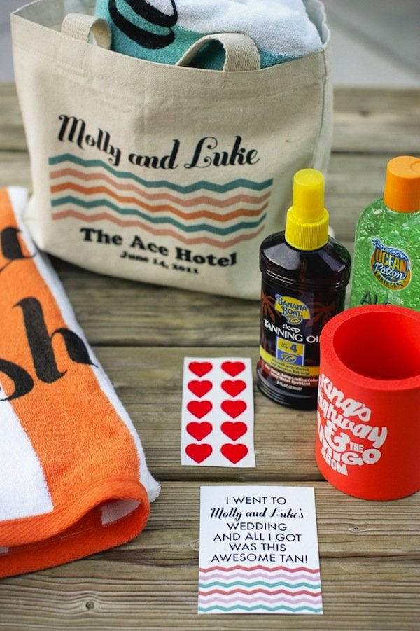 out of town guest welcome bags