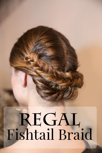 New York Fashion Week Hair Tutorial: Regal Fishtail Braid