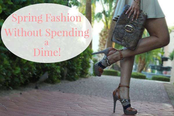 Embrace Spring Fashion Trends Without Spending a Dime