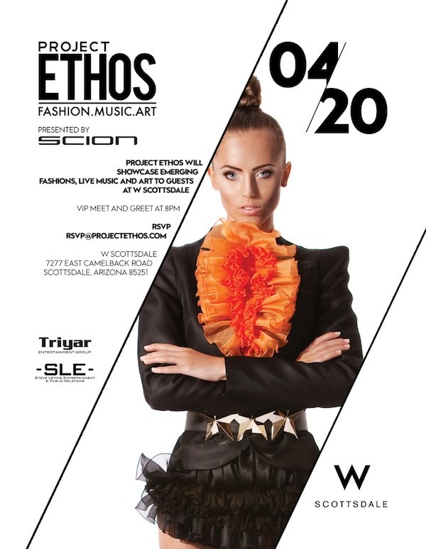 ProjectEthosScottsdale2013 Project Ethos Fashion Show at W Scottsdale