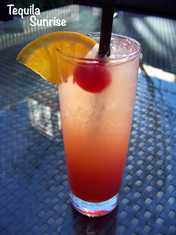 Tequila Sunrise 1 {Foodie Fridays} Tequila Sunrise Recipe