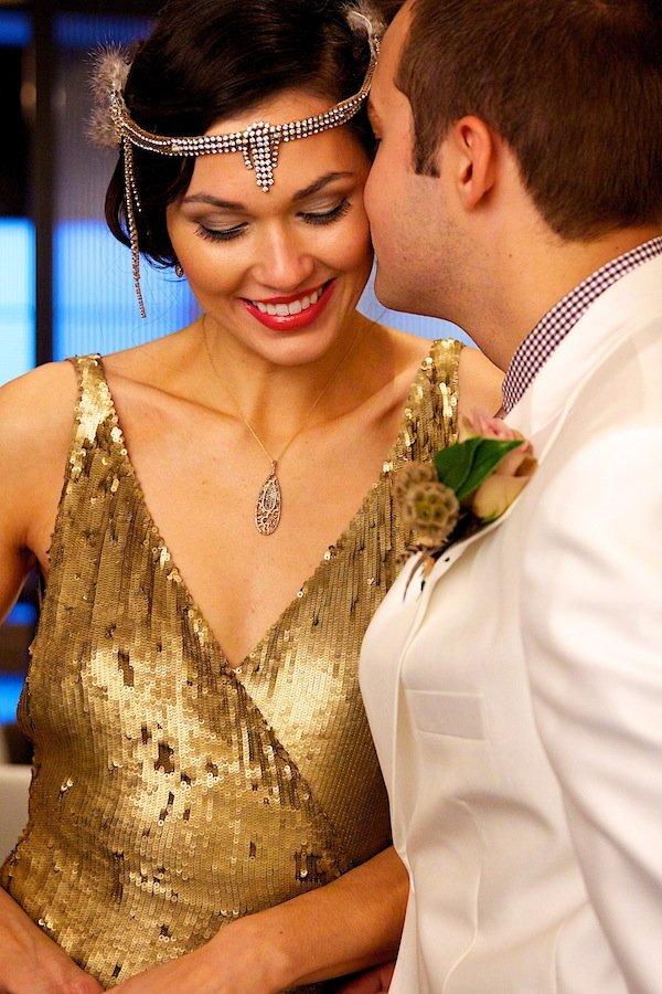 Great Gatsby Styled Wedding Shoot