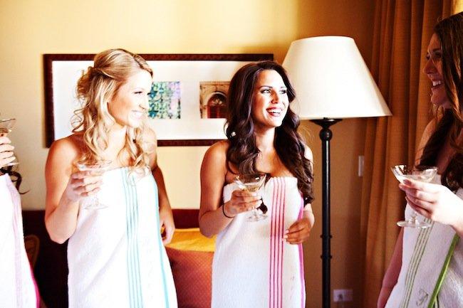 {Wedding Wednesday} Personalized Bridesmaid Robes
