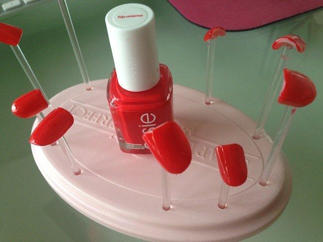 custom nail solutions nail stand