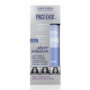 john frieda frizz ease sheer solutions frizz control serum Monsoon Proof Your Look