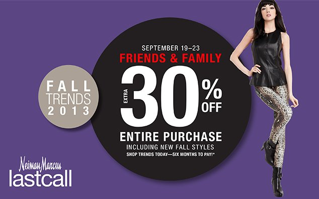 last call neiman marcus friends family sale