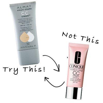 almay cc cream vs clinique cc cream