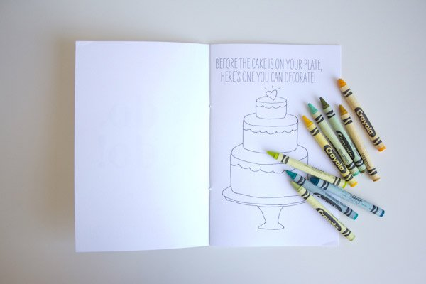 diy printable wedding activity book
