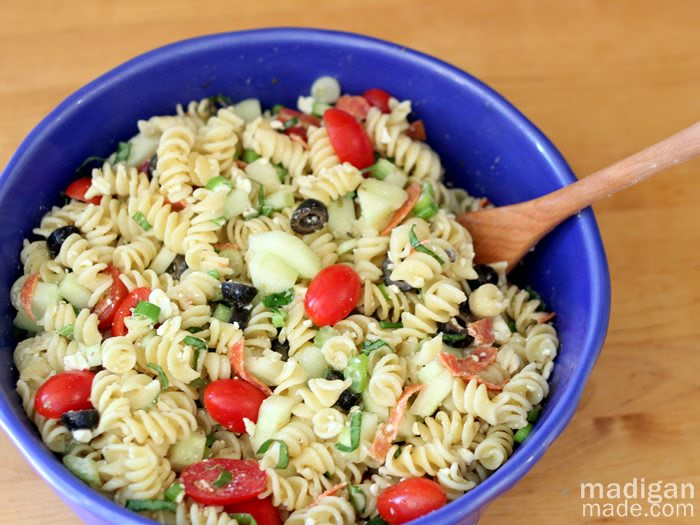 Seven Best Summer Pasta Salad Recipes
