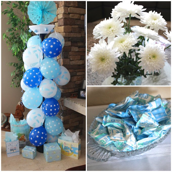 baby boy shower decorations