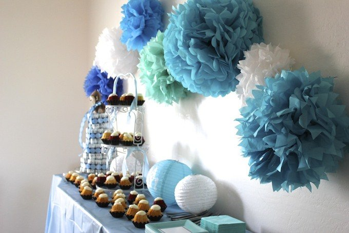 baby boy shower ideas Our Baby Q