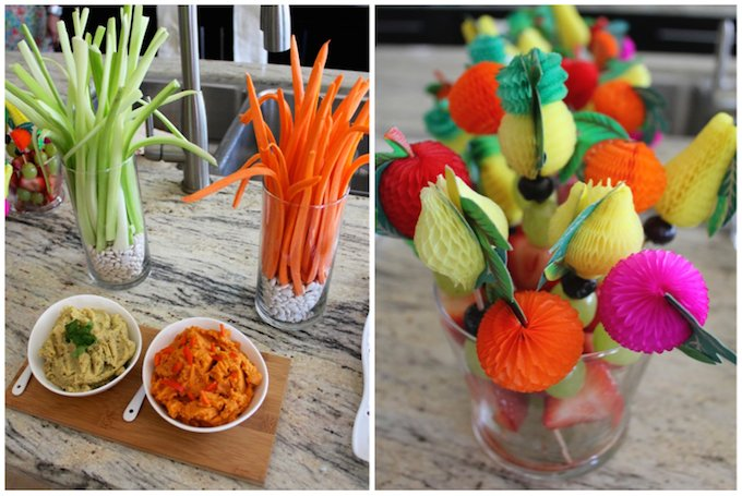 baby shower food decor ideas A Very Special Baby Boys Baby Shower