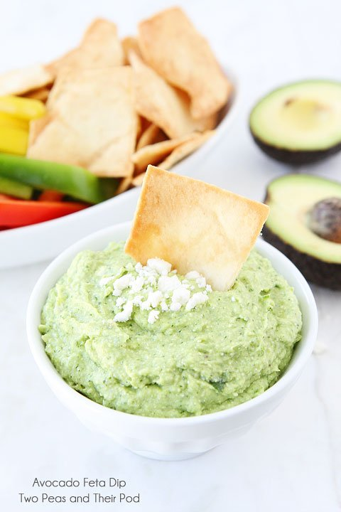 Avocado Feta Dip 5 {Foodie Fridays} Eight Amazing Avocado Recipes