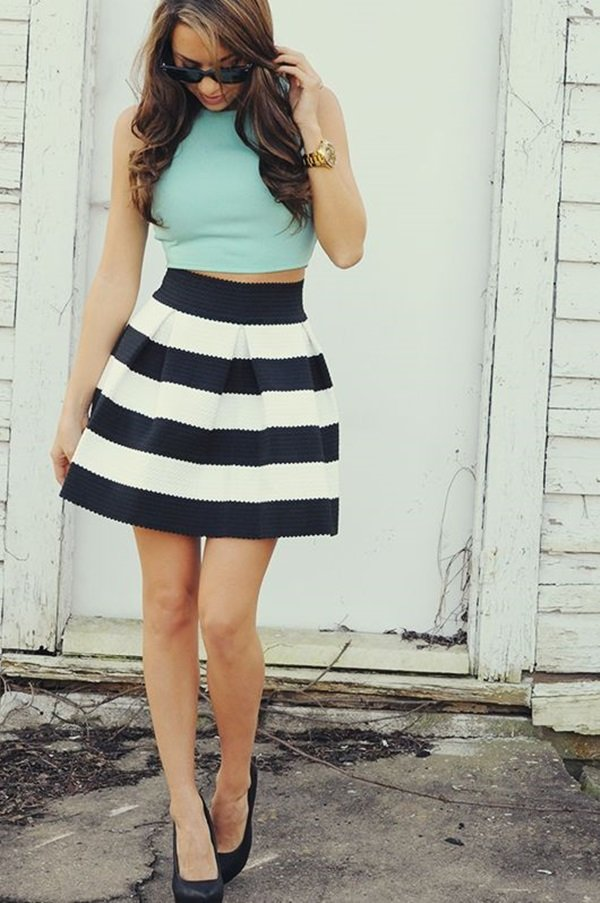 Dynamic Crop top Outfits 23 Five Chic Ways to Wear Crop Tops