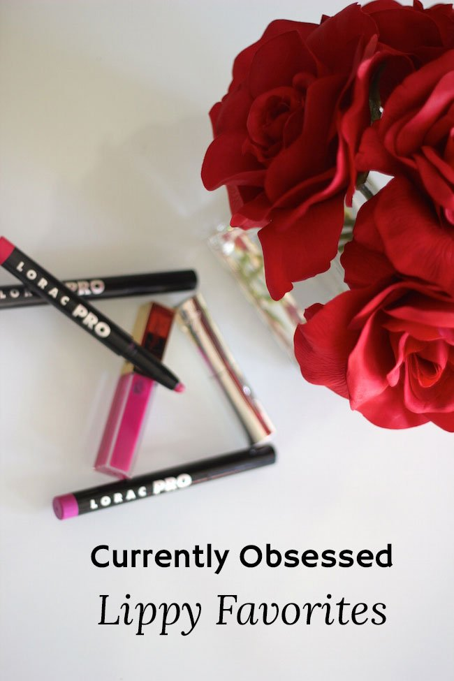 {Currently Obsessed} Fall Lip Favorites