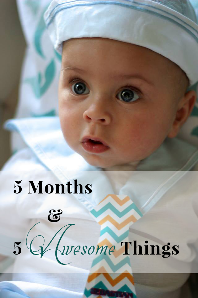 5 Months and 5 Things