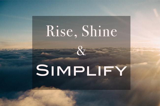 2015 Power Word: Simplify