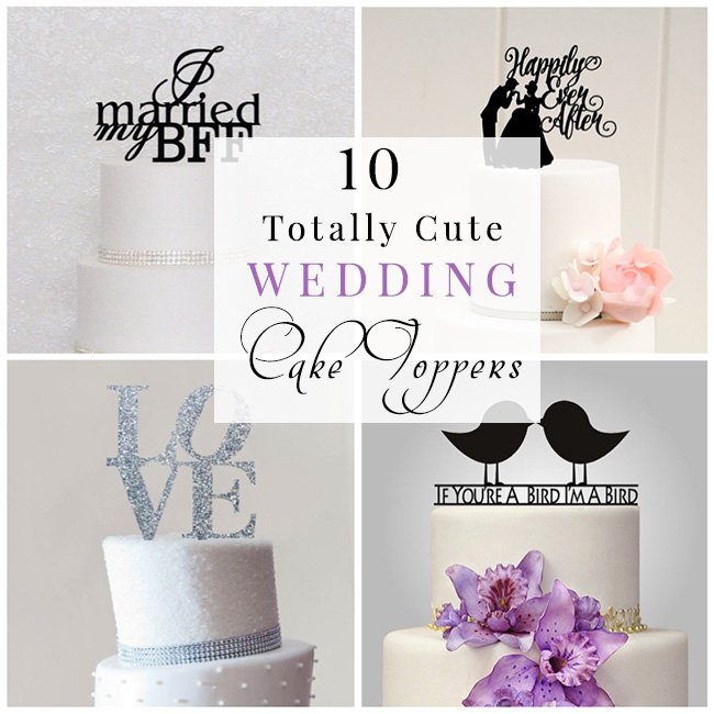 10 Unique Wedding Cake Topper Ideas
