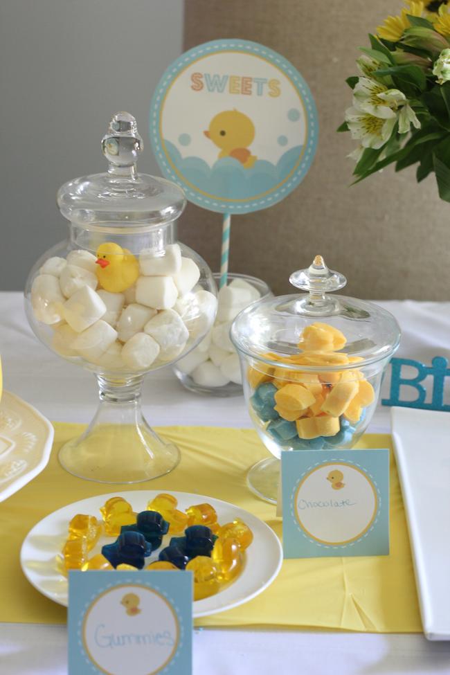 rubber duck dessert table