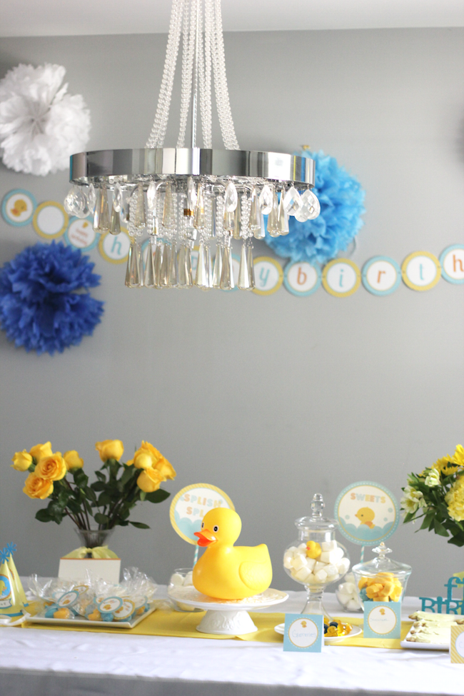 rubber ducky birthday party