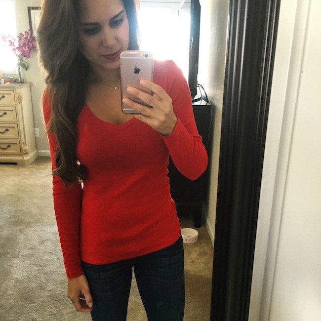 polo ralph lauren red sweater