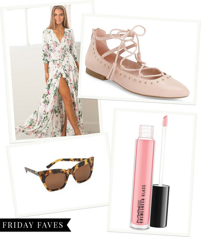 {Friday Faves} Pretty in Pink