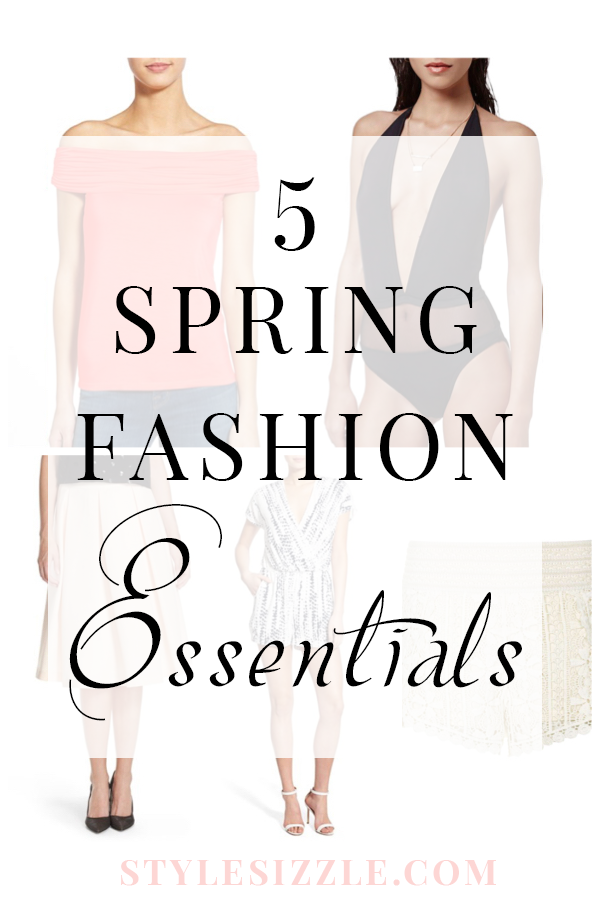 5 Spring 2016 Fashion Essentials You Absolutely Need