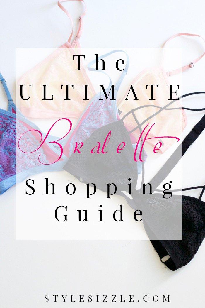 ultimate bralette shopping guide